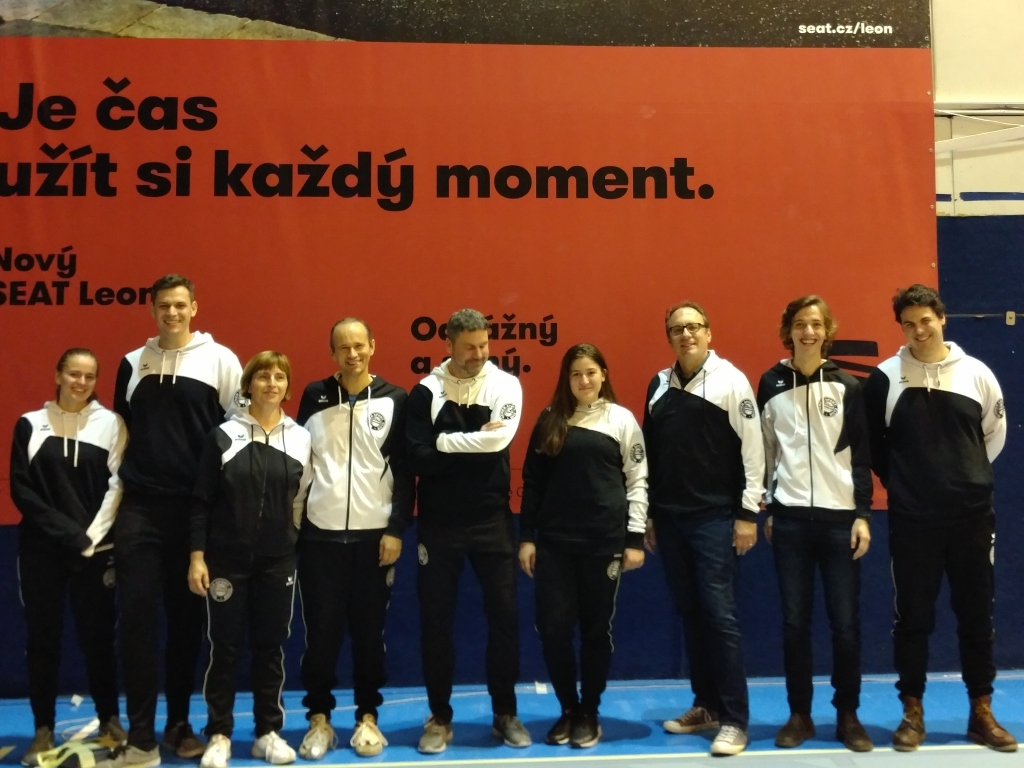 Unsere Delegation in Brünn