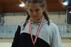 Frida Corn mit U14 Gold.