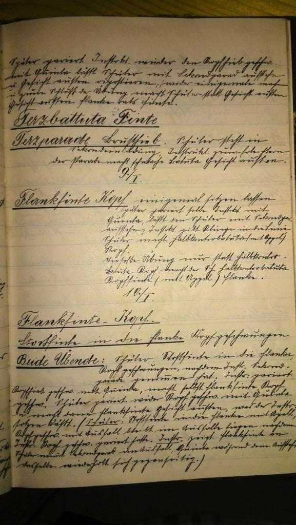 Das Lektionsübungsbuch von 1906