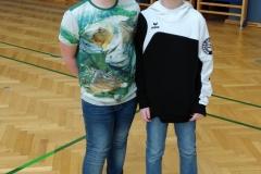 Unsere Jugend C Fechter Thimo und Jonas