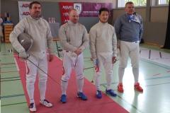 Erwin mit dem Team Österreich