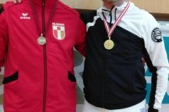Erwin mit seinem kroatischen Finalgegner